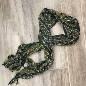 Beautiful green scarf